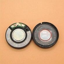 2 PCS 30mm HIFI kulaklık hoparlör kulaklık boynuz 50 mW 32 ohm DIY için kulaklık hoparlör yedek