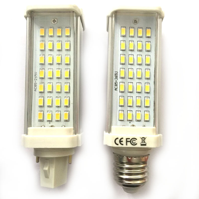 Home Electronic Accessories Consumer Electronics Indoor Outdoor Ac 85v-265v E27/g24 9w 28 Smd 5630 Horizontal Plug Lamp Led Corn Bulb Pure White Or Warm White Light With Cover