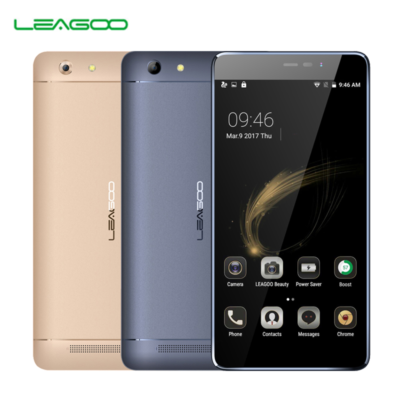 "Leagoo Shark 5000 5000mAh 5.5"" HD MTK6580A Quad Core Android 6.0 1GB RAM 8GB ROM OTG 13MP Fast charger Smartphone"
