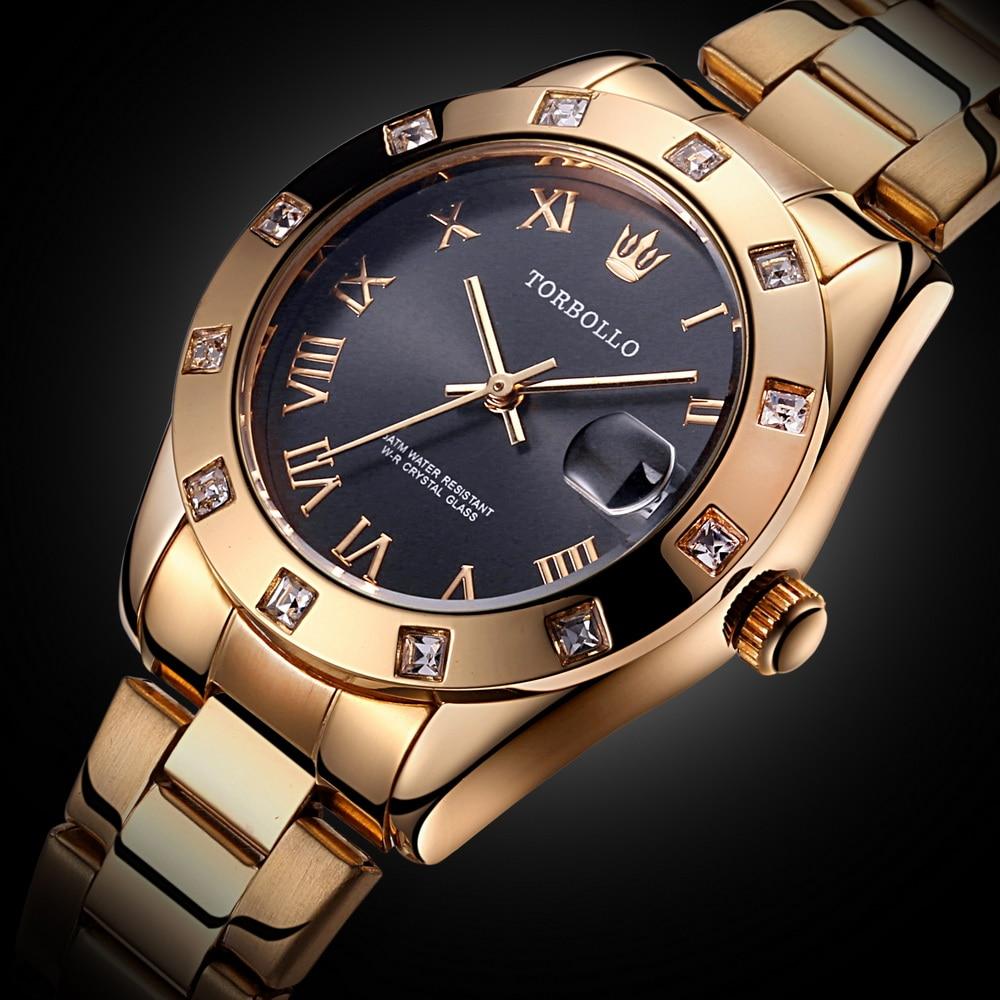 2019 новые модные женские часы золотые из нержавеющей стали водонепроницаемые кварцевые часы женские наручные часы Relogio Feminino
