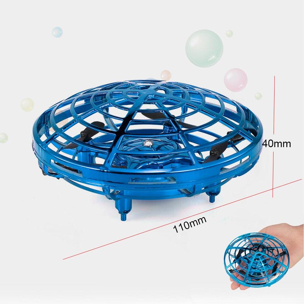 IPiggy F802 Mini Drone Infrarot Induktion Hand Steuer UFO Höhe Halten RC Ausbildung Drone RC Quadcopter Spielzeug für kinder RC spielzeug