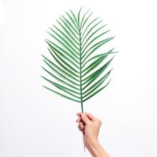 1 шт. искусственные пальмовые искусственные растения Areca зеленый пластик модель дерева Свадебные праздничные украшения для дома Sago Cycas Листья