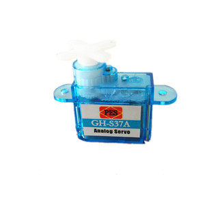 Image 3 - 10pcs/lot Miniature GH S37A GH S43A GH 3.7g/4.3g Micro Analog Servo For RC Airplane Helicopter 30% off