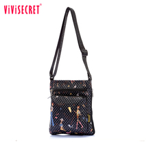 Brand 2016 New Waterproof Nylon Lady Single Shoulder Sling Bag Small Quality Messenger Crossbody Bags for Women bags