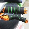 1set of Universal Sponge Handlebar Hand Grips for Motorcycle Soft Sponge Grips