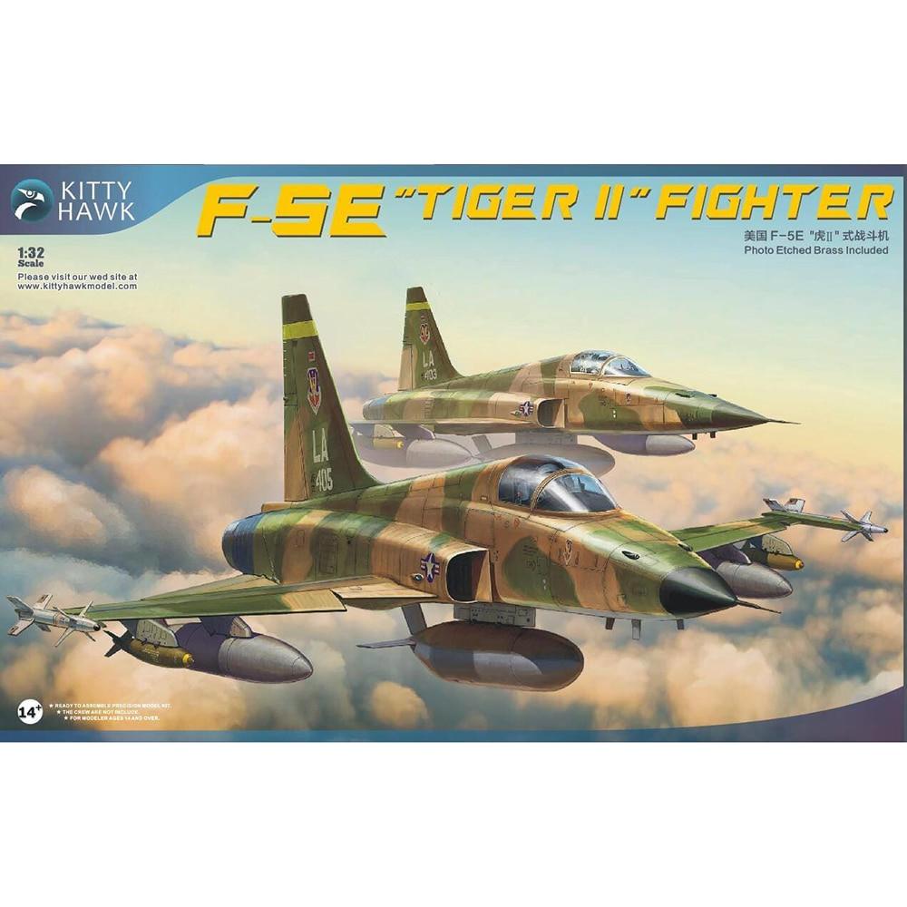 """Oyuncaklar ve Hobi Ürünleri'ten Modeli Yapı Setleri'de 1/32 Kitty Hawk KH32018 F 5E """"Kaplan II"""" Avcı modeli hobi'da  Grup 1"""