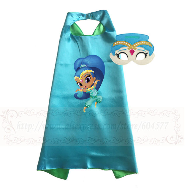 shimmer and shine costume for girls halloween costumes for kids birthday party favor costume