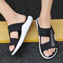 Roman Men Casual Man Beach Sandals 2019 Summer Shoes Gladiator Men's Sandals Shoe Flip Flops Large Size 46 Flat Sandals Fashion недорого