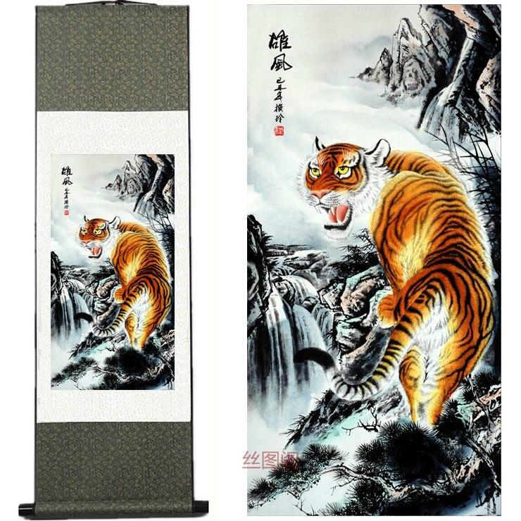 Acquista all 39 ingrosso online cinese pittura tigre da for Casa tradizionale cinese
