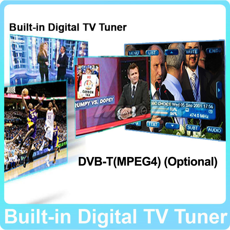 Speical Built-in Digital TV Tuner DVB-T For Our Android 4.2.2 Car DVD Player,this item don't sell seperately dvb t2 car 180 200km h digital car tv tuner 4 antenna 4 mobility chip dvb t2 car tv receiver box dvbt2