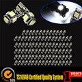 200pcs T10 5smd 5 smd 5050 W5w 194 No Error LED Bulbs Wholesale new High Quality Canbus Led Car Light