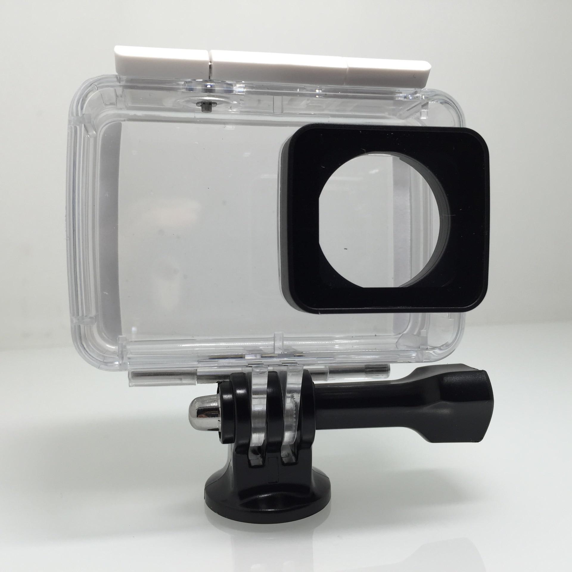 Подводный Водонепроницаемый прозрачные обоРочки крышки Корпус Камера Shell ОбРожка протектор дРя Xiaomi Yi 4 К действие Камера F