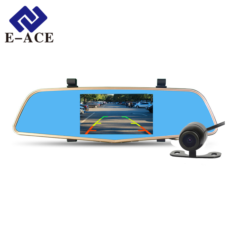 E ACE Car Dvr Mirror Full HD 1080P Automobile font b Camera b font Rearview Mirror