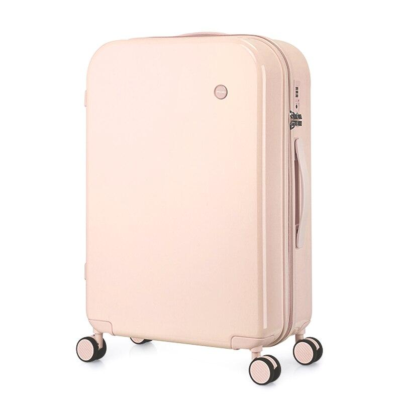 Mixi computador masculino mala de viagem mala de viagem caso do trole mudo girador rodas rolando bagagem caso tsa bloqueio carry ons m9236