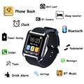 1 шт. Smart Watch женщины мужчины студент спортивные часы часы U80 Bluetooth Наручные Часы Android смартфон для iOS силиконовый ремень H4