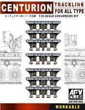 AFV Club 1/35 AF35102 WORKABLE Track Link for WWII British Centurion All Type