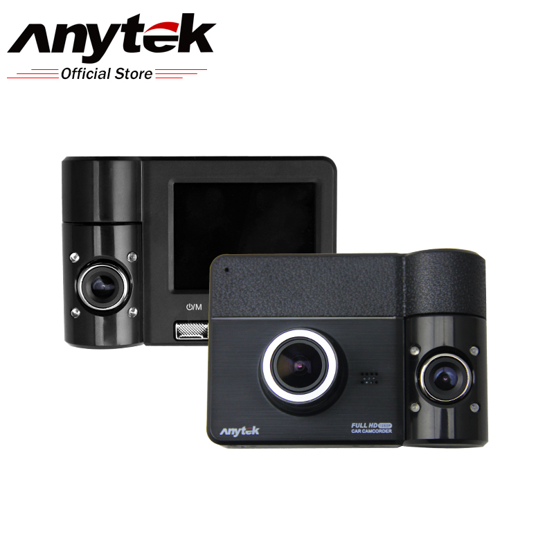Anytek B60 270 Degree Lens Rotation Rear View Camera Driving Car Registrator Car DVR  Dashcam  Parking Monitoring Dash Cam