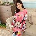 Novo 2015 Pijama Pijama Pijamas roupas de Femm Mujer Pijama Feminino Pijamas de inverno Manga completa Pijama Entero Adventure Time
