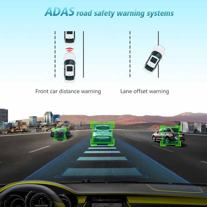 """ANSTAR 車 DVR HD カメラ車のミラー 1080 1080P 4 グラム ADAS 10 """"バックミラーレジストラスピーカー車のためミラー GPS ナビゲータダッシュカム"""