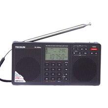 """Tecsun pl-398mp 2.2 """"full band radio estéreo sintonización digital receptor reproductor de mp3-negro"""