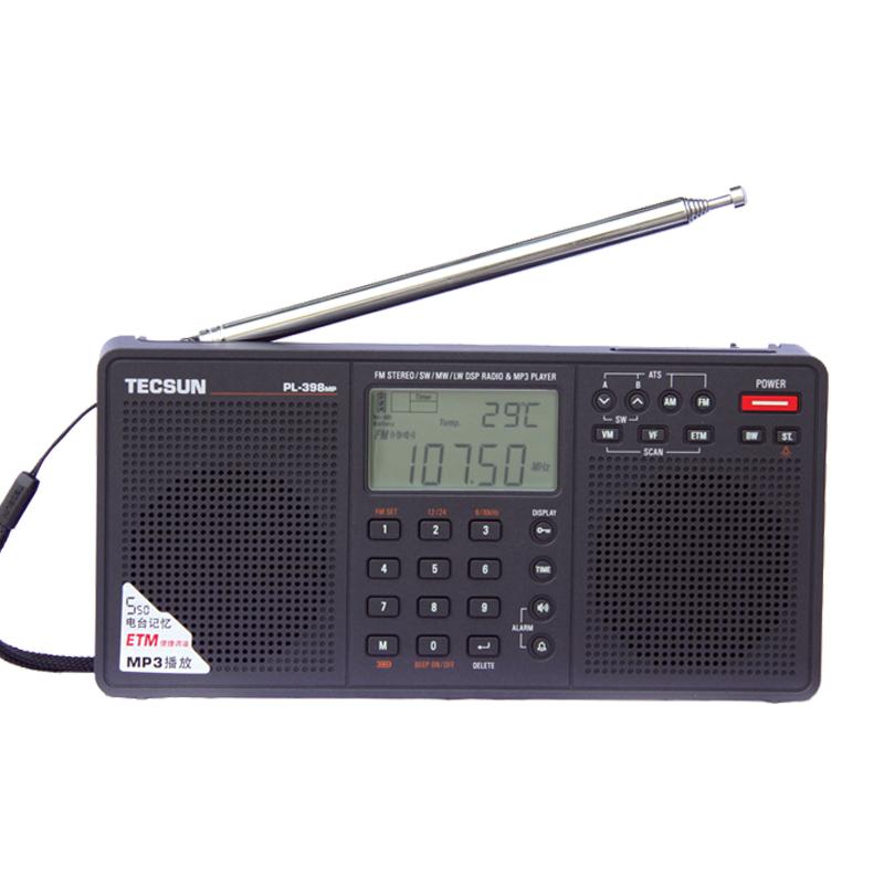 Prix pour Tecsun pl-398mp 2.2 ''full bande numérique tuning stéréo fm/am/sw radio récepteur lecteur mp3 tecsun pl-398mp radio