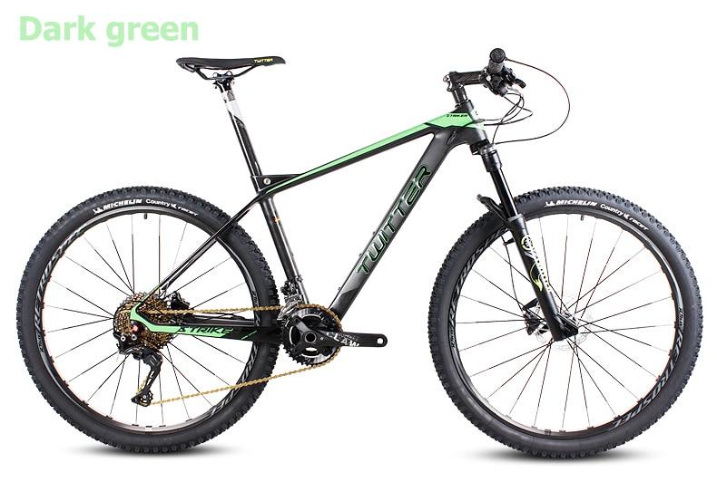 Pulsuz alış-veriş 26 / 27.5inc karbon lif dağ velosiped 27speed - Velosiped sürün - Fotoqrafiya 2
