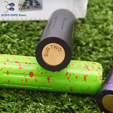sub two Mech Mod 18650 Battery 24mm brass Vaporizer vape Mechanical Mod VS Kennedy 25 Vindicator MOD AvidLyfe Elthunder mod diy(China)
