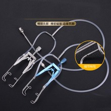 medical orthopedic instrument femur tibia intramedullary nail 4 1 cannulated hole opener quadrilateral square hollow mouth gag Microscopic instrument flushing opener ophthalmology polymer surgical instrument tool opener with hole washable