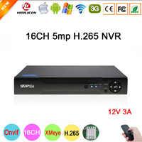 Dahua Panel 5mp/4mp/3mp/2mp/1mp IP Kamera Hi3536D XMeye Audio H.265 + 5mp 16CH 16 kanal Onvif Überwachung Video Recorder NVR