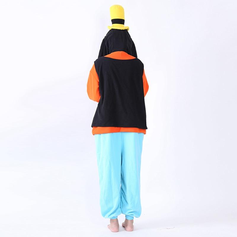 Tuta Uomo Anime Halloween Polar Plus Costumi Per Donna Cosplay Pippo Oneise  Pigiama Animal Adulto Unisex ... 63f1532dfd18