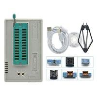 MiniPro TL866CS USB Universal Programmer + 6 items (SOP8 Adapter PLCC adpater)/ TL866A with Best quality