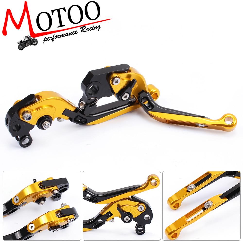 Motoo - DB-12 M-69 Adjustable CNC 3D Extendable Folding Brake Clutch Levers for KTM 690 SMC/SMC-R/Duke/Duke R 2012-2013 adjustable billet extendable folding brake clutch levers for bimota db 5 s r 1100 2006 11 07 09 10 db 7 08 11 db 8 1200 08 11