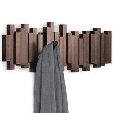 Creative וו מאחורי קיר קיר בגדי בגדי קולב סלון עיצוב הבית את לדלת של המדף על את wa