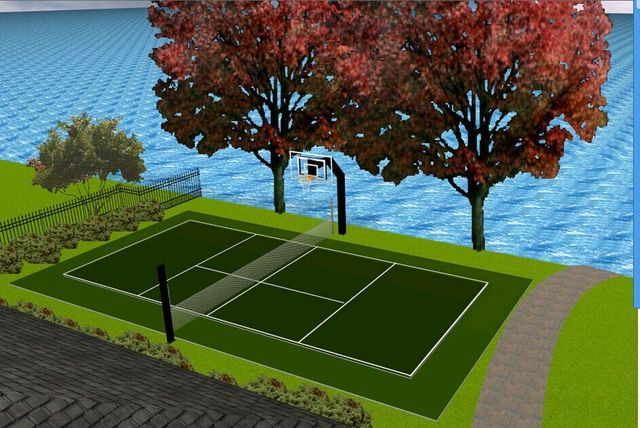 Sport Used Quality Assurance Artificial Turf Grass For Tennis Court