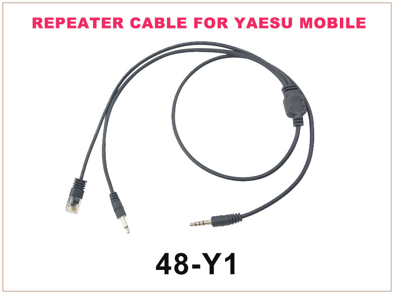 48-Y1 Repeater Controller Cable FOR YAESU MOBILE FT-2800 T-8800 FT-7800