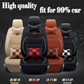 EMS Luxury Leather PU leather Car Seat Covers Car 5 Seat Protection Cover for Chevy Tahoe Suburban Trailblazer Traverse