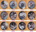 1PC HeHe Series 1-60 Design Plate Polish Stamping Manicure Image Nail Art Image Konad Print Stamp Stamping Manicure Template
