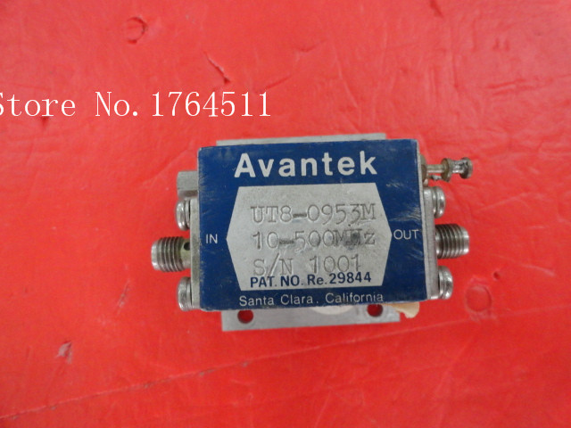 [BELLA] AVANTEK UT8-0953M 10-500MHz Vin:15V SMA Amplifier Supply