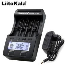 Зарядное устройство Liitokala для литиевых аккумуляторов, ЖК дисплей, 3,7 В, 18650, 18350, 16340, 10440, 14500, 20170, 100, 202, 402, 300, 1,2 в, AA, AAA, NiMH
