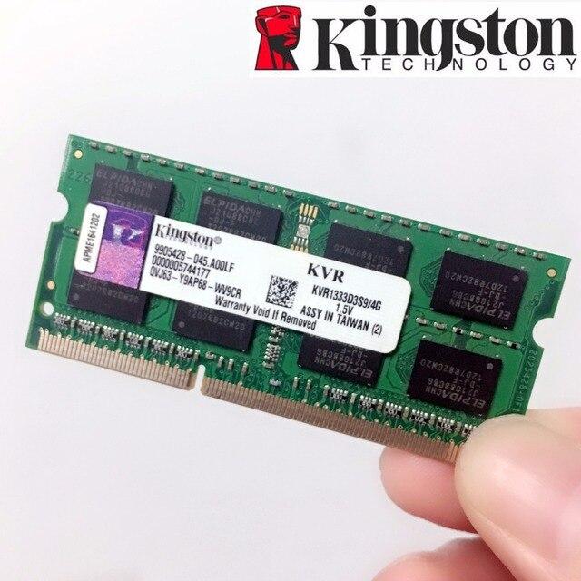 Kingston памяти оперативная память модуль Тетрадь ноутбук 4 ГБ 2 ГБ 8 ГБ PC3 PC3L DDR3 1333 1600 МГц 1333 1600 10600 12800 10600S 1