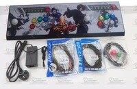 새로운 도착 판도라 상자 4 초 + 2 플레이어 아케이드 콘솔 홈 조이스틱 모든 LED 버튼 815