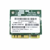 SSEA New for BroadCom BCM94313HMGB BCM4313 Wifi Bluetooth 4.0 Mini PCI-E 300M Card for HP G4 G6 DV6 DV7 CQ43 CQ57 SPS 657325-001