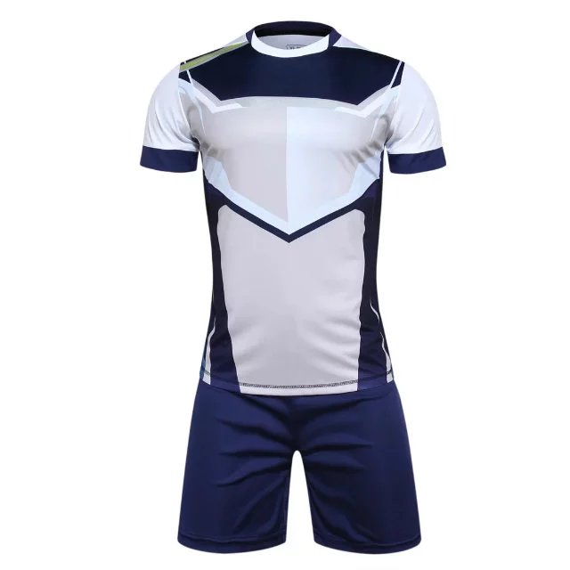 Mens Training Short Sleeve Jersey Breathable Running Sets Sportswear Soccer Team Football Kits Adult Diy Logo Good Quality
