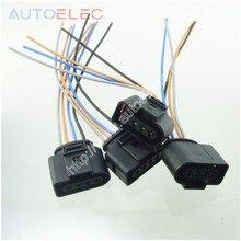 Набор 4 катушки зажигания 4 Pin 1J0973724 разъем Ремонтный комплект 1J0 973 724 для A4 A6 rs4 rs6 a8 VW Passat audi адаптер жгут проводов