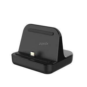 Image 4 - Tipo C Caricatore Del Bacino di Ricarica USB Desktop di C 3.1 Stazione Della Culla Per Il Telefono Jy19 19 Dropship