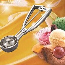 Durable de Acero Helado Mash Potato Scoop Conveniente Pilas Helado Cuchara Tamaño Útil Cocina Perfecta