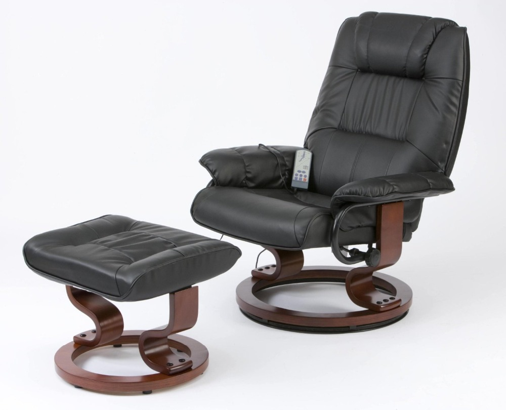 Aliexpress.com  Buy Deluxe Leisure Medical Massage Chair and Stool Leather Pedicure Relax Recliner with 8 Motor Massage u0026 Heat Electric Game Chair from ... : reclining medical chairs - islam-shia.org