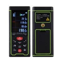High Quality Digital Laser Rangefinder Color Display Rechargeabel 50m Laser Range Finder Distance Meter Tape Measure