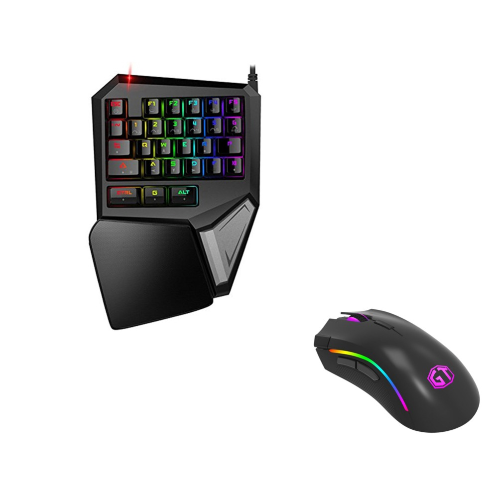 Delux T9 Plus Mechanical Keyboard and Mouse Gaming RGB Gaming Mouse Game Keyboard 4000 DPI USB Wired Keyboard Mouse Mice M625 delux m625 rgb backlight gaming mouse 12000 dpi 12000 fps 7 buttons optical usb wired mice for lol dota game player pc laptop