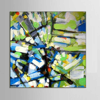 Young Abstract Complex Popular Elements are Scrolling Hand Painted Abstract Oil Painting Handmade Wall Artwork Pictures